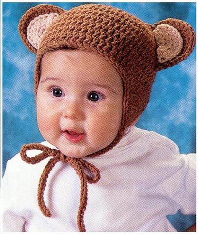 схема шапка для детей крючок. детские зимних шапочек крючком схемы